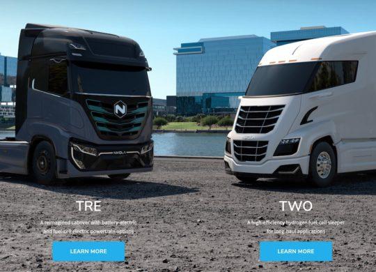 camions nikola motors