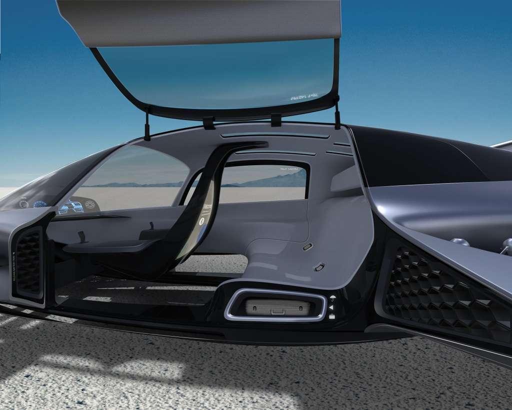 Habitacle Hypercar Volant