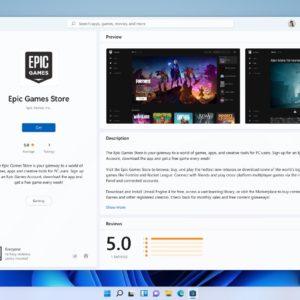 Image article Windows : le Microsoft Store ajoute des stores alternatifs, comme Epic Games