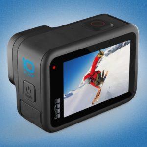 Image article GoPro Hero 10 Black : l'action cam un cran plus loin (video 5,3 K à 60 fps, puce GP2, etc.)