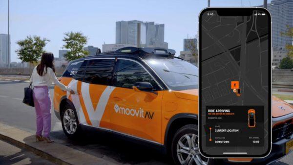Intel taxis autonomes