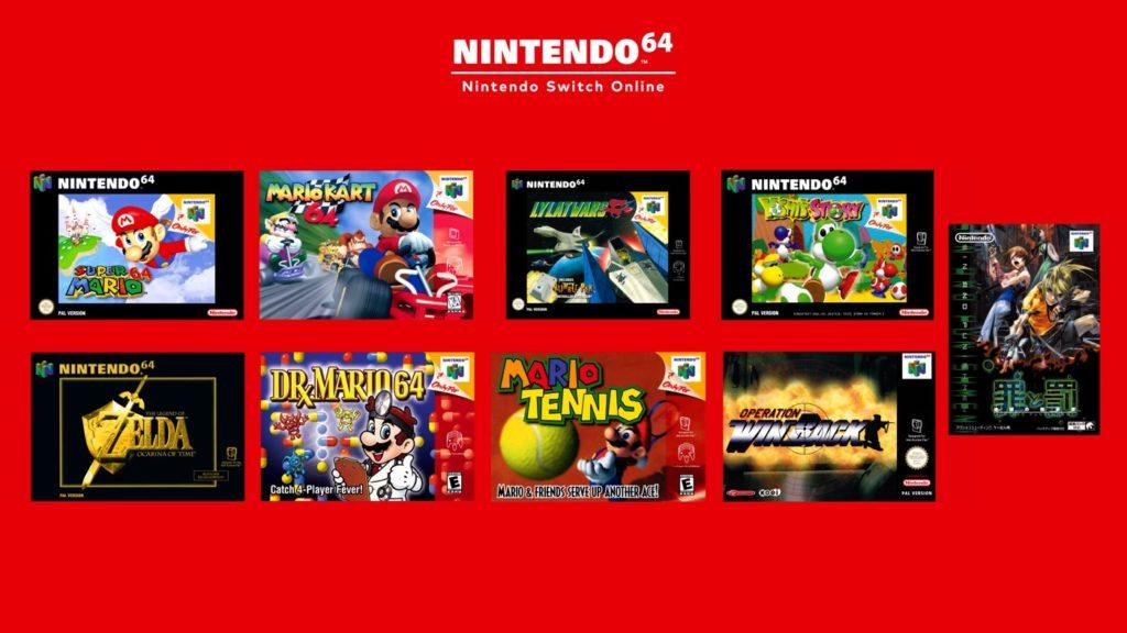 Jeux Nintendo 64 Sur Switch
