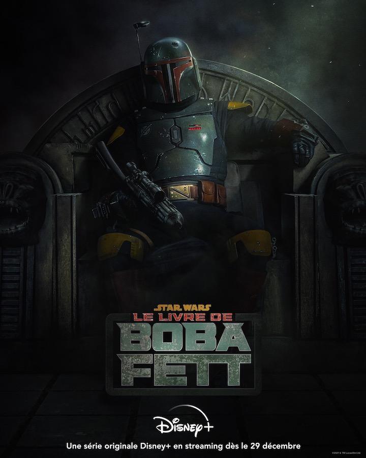 Le Livre de Boba Fett Affiche