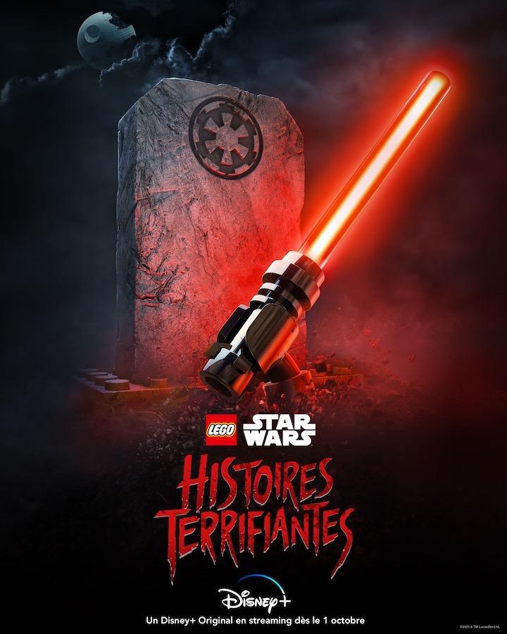 Lego Star Wars Histoires Terrifiantes Affiche
