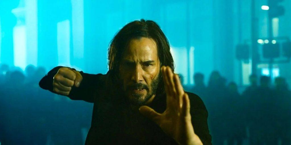 Matrix 4 Neo Keanu Reeves