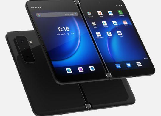 Microsoft Surface Duo 2 Avant Arriere Officiel