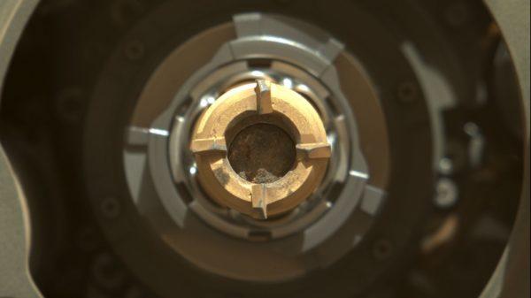 Perseverance echantillon Mars