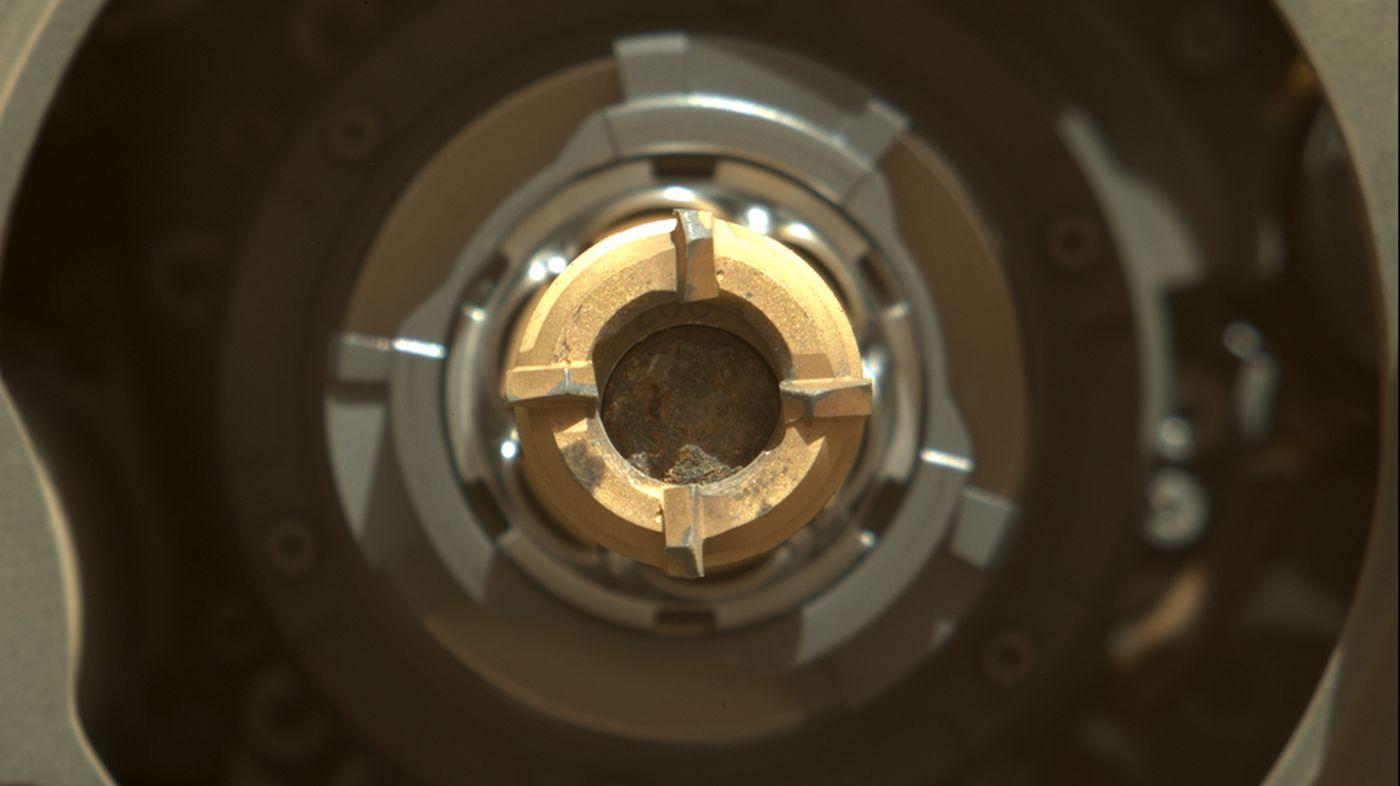 Perseverance : l'analyse des échantillons martiens indique la présence de sels minéraux