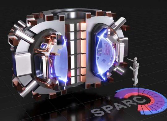 Sparc Fusion Nucléaire