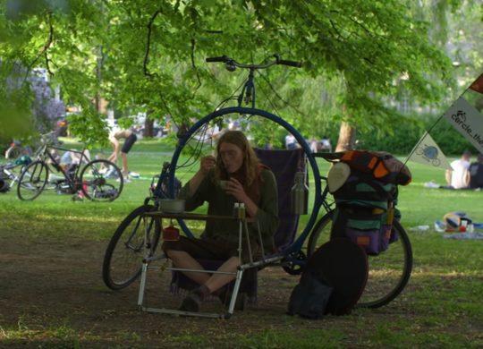 Vélo de camping