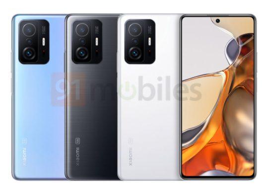 Xiaomi 11T Pro leak