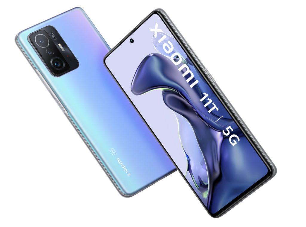 Xiaomi 11T Officiel Avant Arriere
