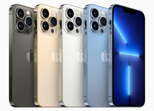 iPhone 13 Pro Arriere Coloris Officiel