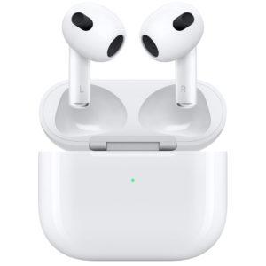 Image article Apple annonce les AirPods 3 : 6 heures d'autonomie, égalisation adaptative et son amélioré