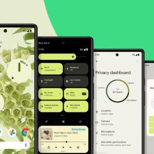 Image article Android 12 est maintenant disponible en version finale