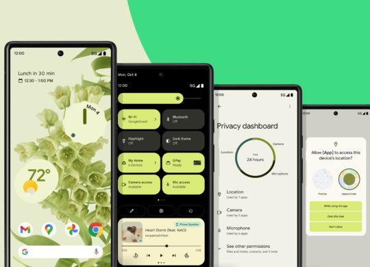 Android 12 Nouveautes