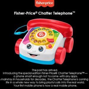 Image article Fischer-Price transforme l'un de ses plus célèbres jouets en un véritable téléphone
