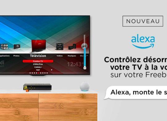 Freebox Revolution Commande Vocale Alexa