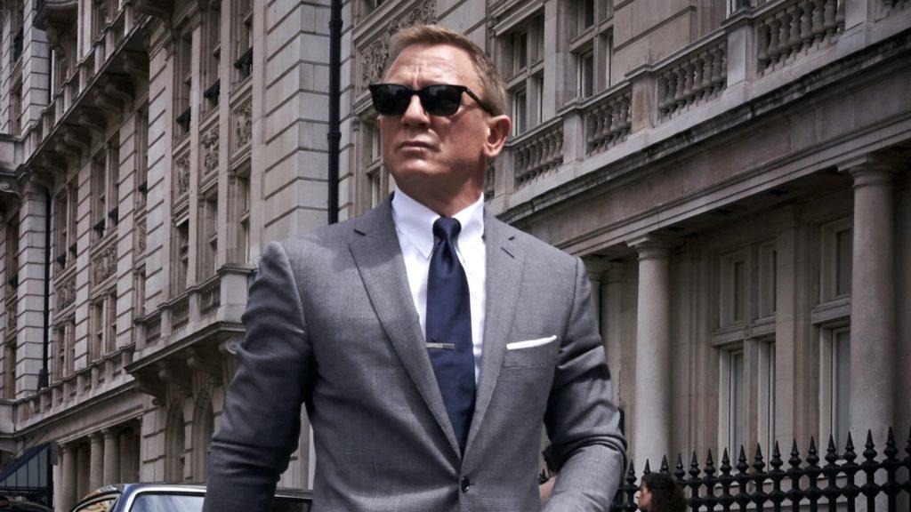Mourir peut attendre Daniel Craig James Bond