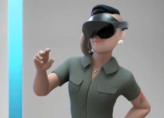 Oculus quest Pro fuite