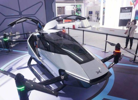 X2 voiture volante