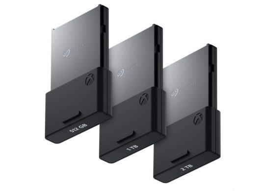 Xbox Series Cartes Stockage 512 Go 1 To et 2 To